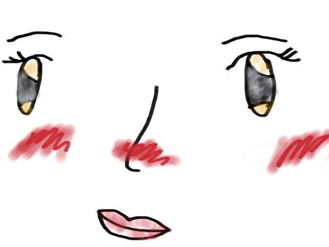Girl Drawing And Parts by Nada Alalawi