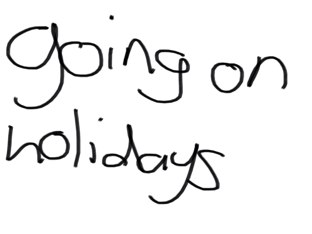 Going On Holidays by Belinda Job