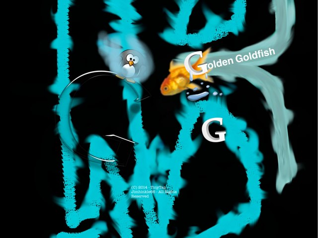 Golden Goldfish: EPIC KIDDY EDITION by David Hinkle
