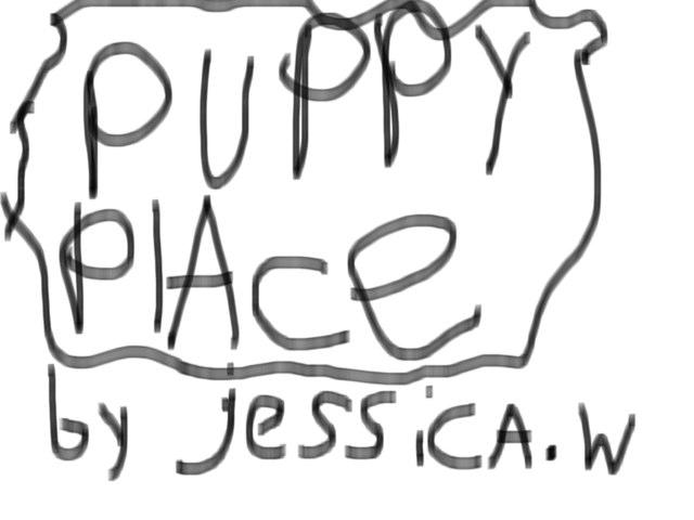 Goldie Puppy Place by Jessica Watne