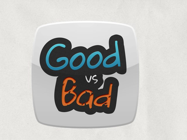 Good Vs Bad by Emilie Melnyk