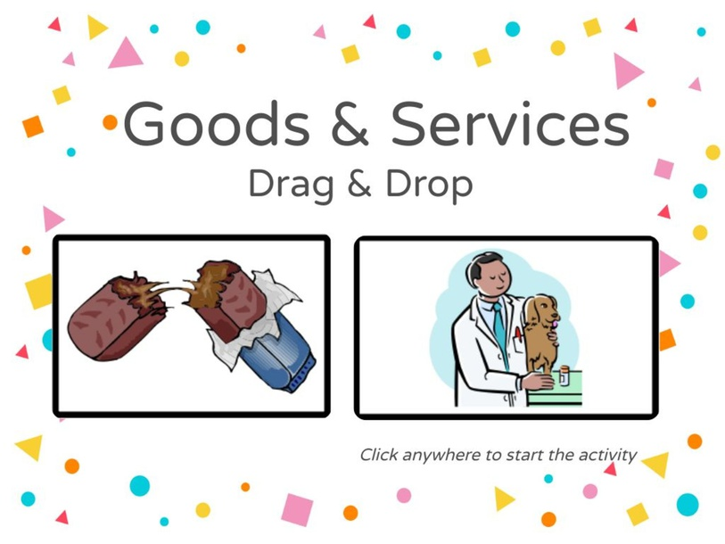 Goods & Services Drag & Drop by Julio Pacheco