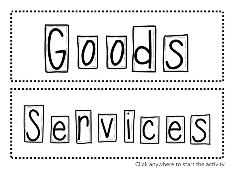 Goods vs. Services by Julio Pacheco