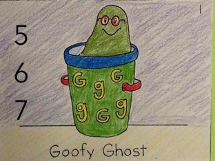 Goofy Ghost by Elliott Kern