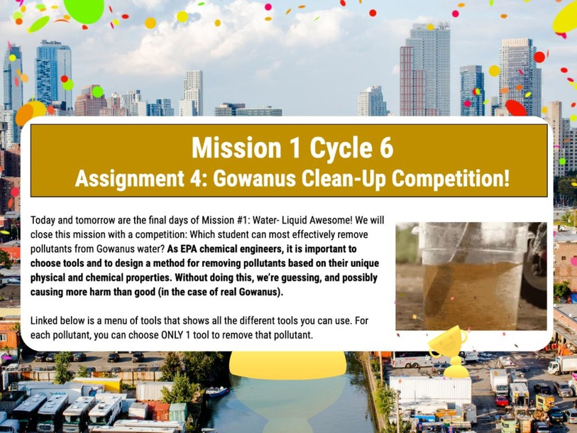Gowanus Clean-Up Competition by Nancy Azcona