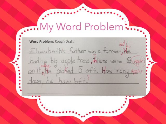 Gr.2 Math Word Problem by Makky Fung