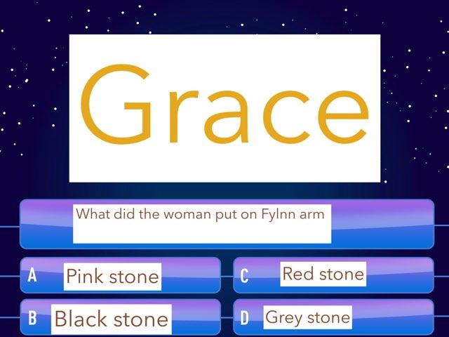 Grace  by Year Six