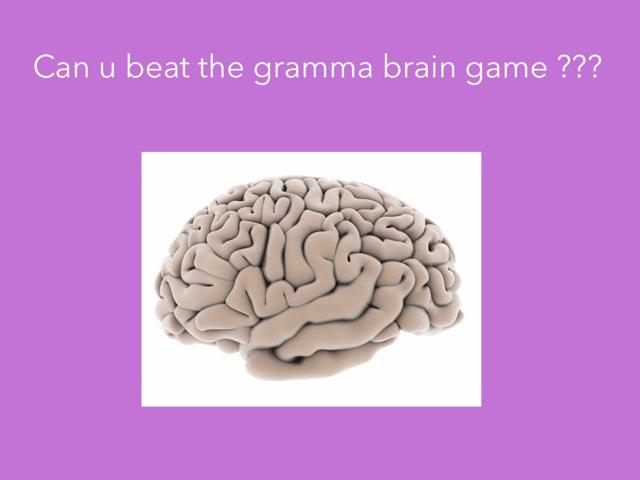 Gramma by Class eleven