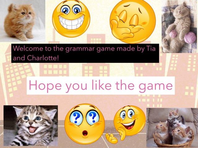 Grammar Quiz by Class eleven