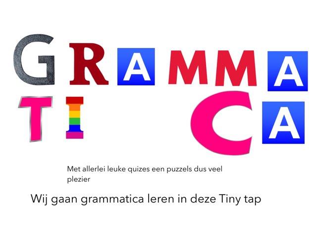 Grammatica  by Troy Holleman