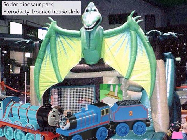 Grampy Rabbit Works At Sodor Dinosaur Park by George awrahim