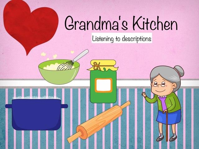 Grandma's Kitchen  by Karen Souter