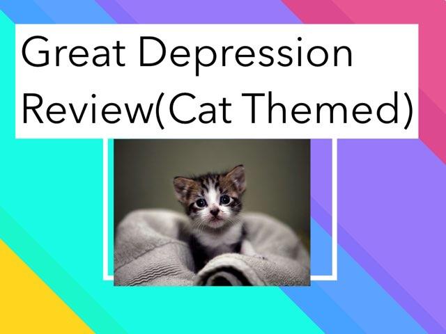 Great Depression review by Elena Davidson