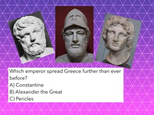 Greece And Rome Quiz by Kevin Gramling