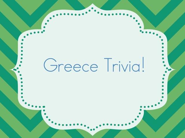 Greece Trivia by TISAS Shukugawa