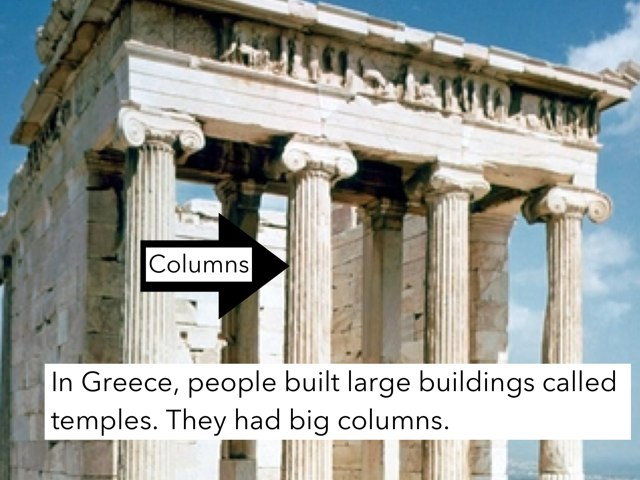 Greek  Buildings by Gayle Gardner