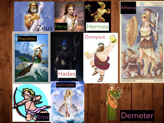 Greek Gods And Goddesses by Nicholas Combs