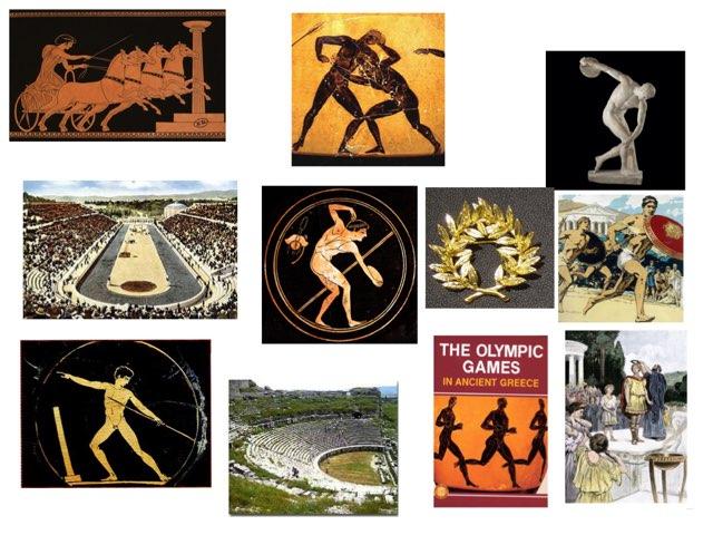 Greek Olympic Games by Chris Harton