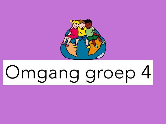 Groep 4: Omgang by Wieke Jasper