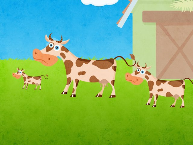 Grote Koe En Kleine Koe by Joella Moes