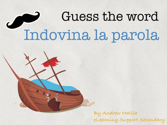 Guess The Word by Andrew Mallia
