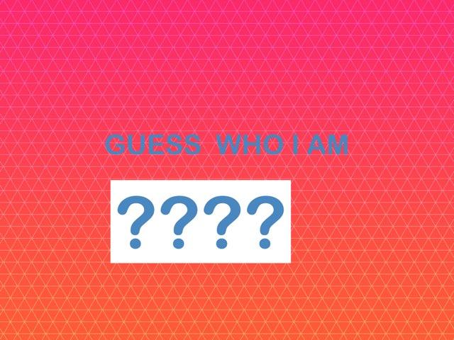 Guess Who I Am by Letizia Nini
