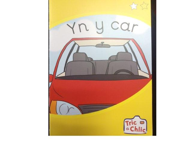 Gweithgareddau 'Yn y car' by Einir Owen