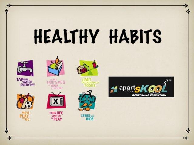 HEALTHY HABITS by TinyTap creator