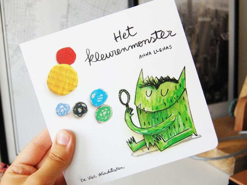 HET KLEURENMONSTER by Lieve Vandevelde