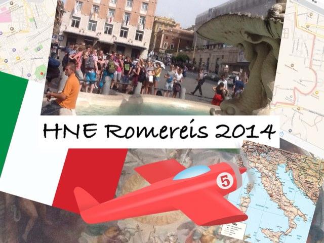 HNE RomeReis 2014 by Caspar Middeldorp