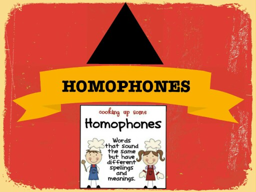 HOMOPHONES by Rajini Dawochand