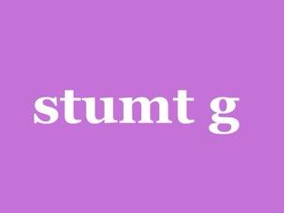 HUSKEREGEL Stumt G by Lissie Jensen