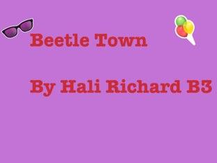 Hali's Beetle Project by Vv Henneberg