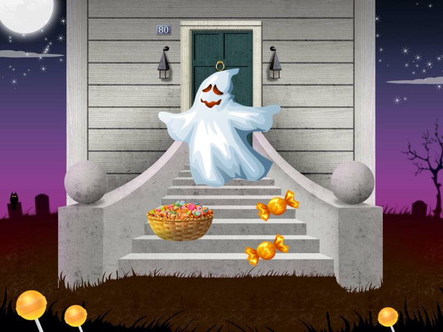 Halloween : chasse aux bonbons  by Eloise Mc Carthy