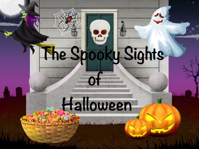 Halloween Book by Erica Lynn