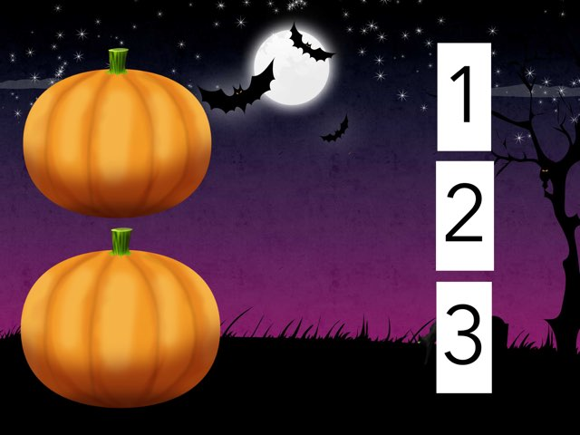 Halloween How Many 1,2,3 by Ma wert