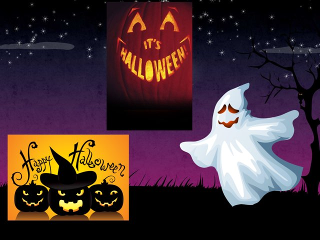 Halloween Is Here! by Aaina mohapatra