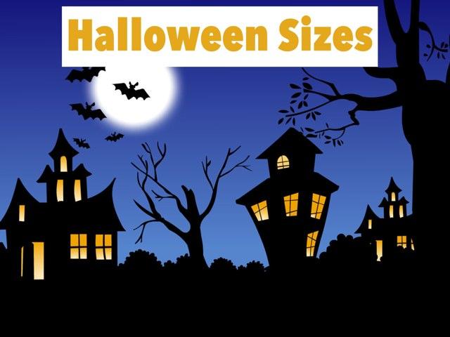 Halloween Sizes by Cece OBrien