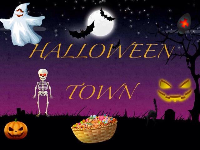 Halloween Town by Escola lápis de cor