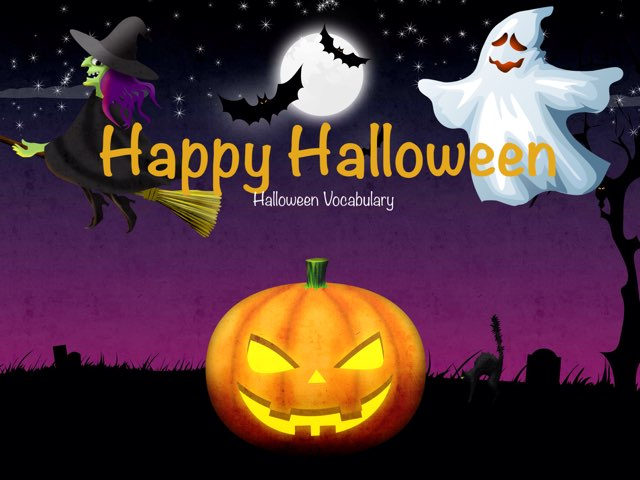 Halloween Vocabulary by Erica Lynn