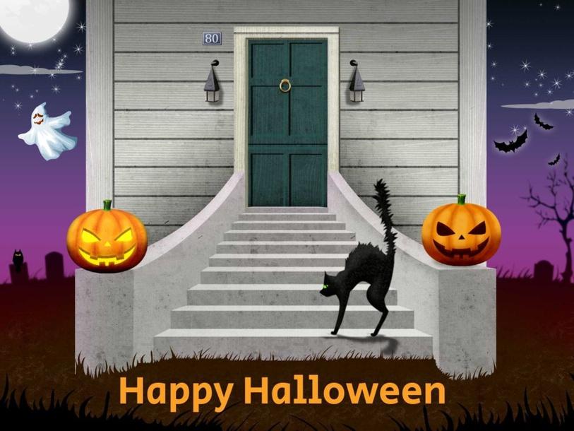 Halloween 英文單字 by Pamela Chung Pei-Chun