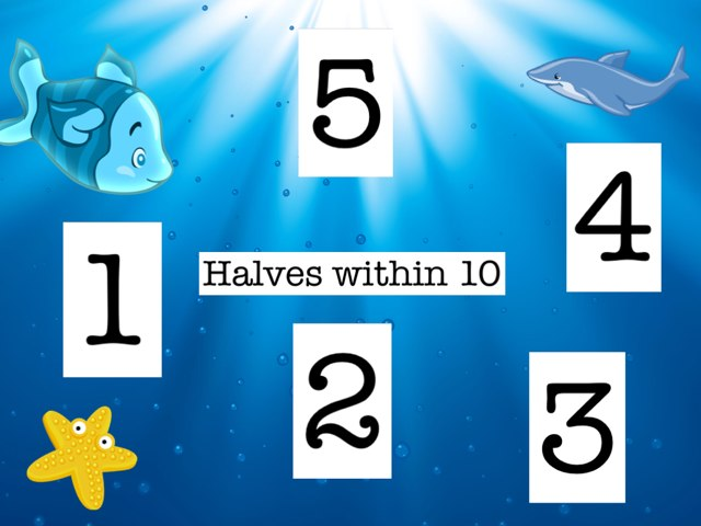 Halves Within 10 by Mrs Kelly