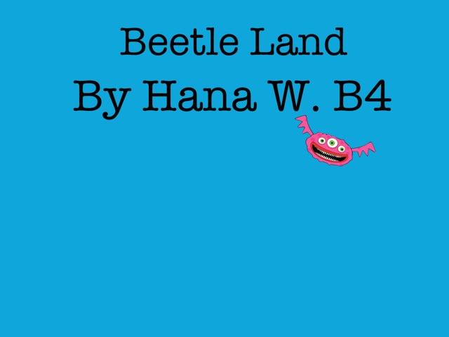 Hana's Beetle Project by Vv Henneberg