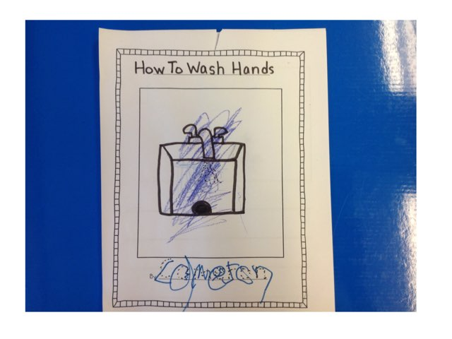 Hand washing Sequence by Michelle Nelipowitz