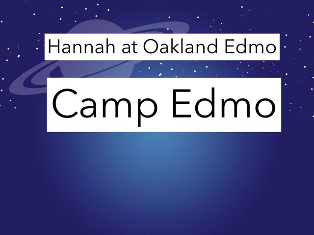 Hannah Game by Edventure More -  Conrad Guevara