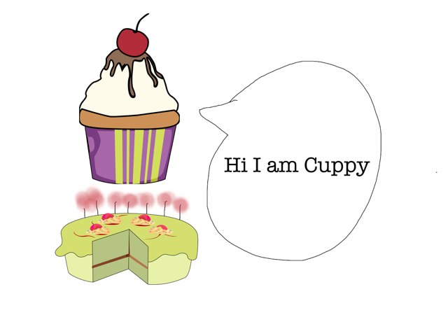 Happy Birthday Cuppy by Karen Dong