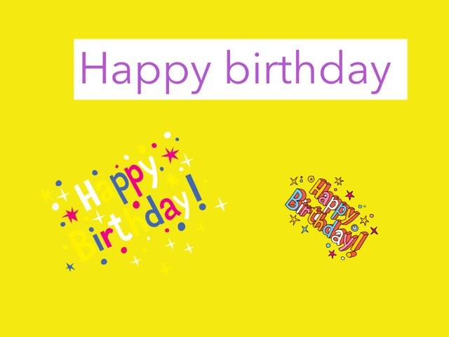 Happy Birthday by Marley Davis ward