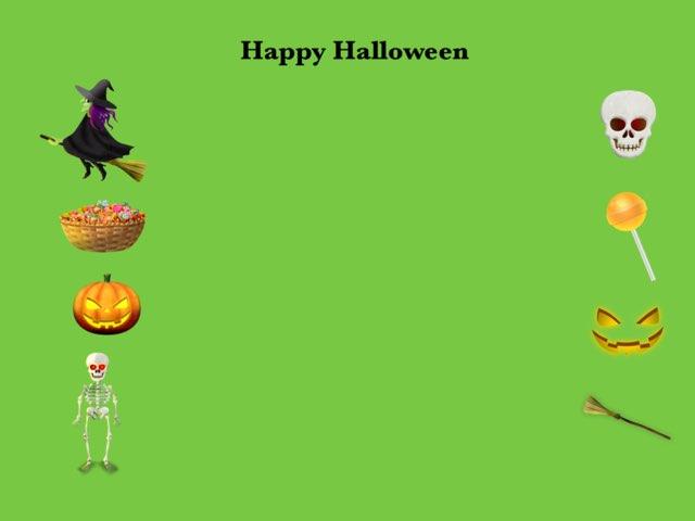 Happy Halloween by Escola lápis de cor