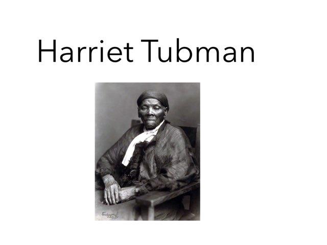 Harriet Tubman by Danielle Moore