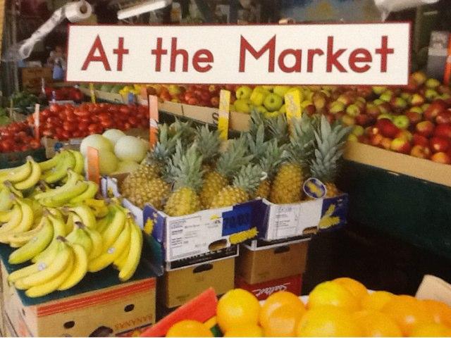 Hcpss At the Market Activity by Sandie Daro